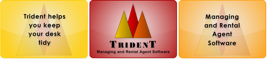 Trident, Managing and Rental Agent Software